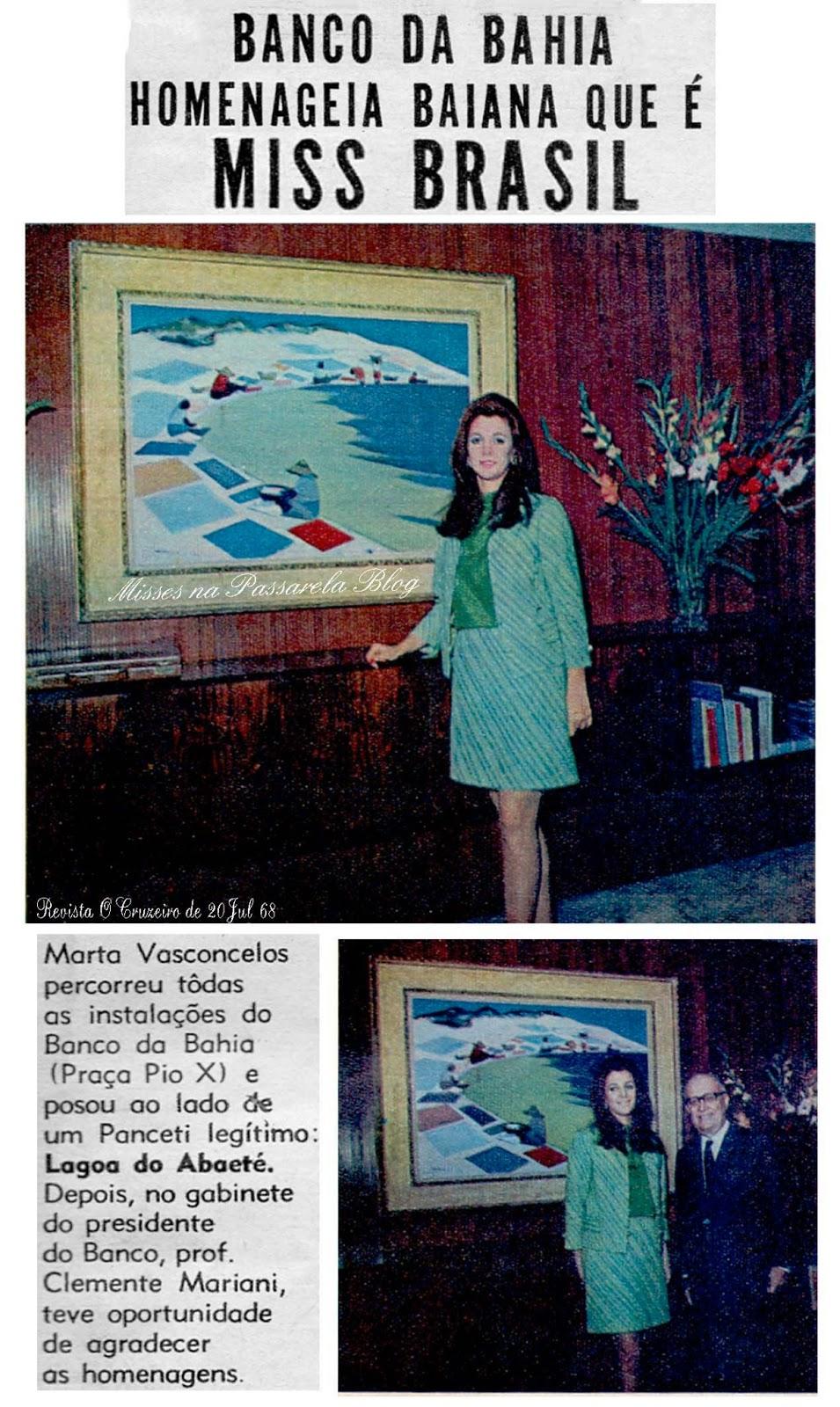 ☽ ✮ ✯ ✰ ☆ ☁ Galeria de Martha Vasconcelos, Miss Universe 1968.☽ ✮ ✯ ✰ ☆ ☁ Martha+Vasconcellos+na+Bahia