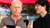 Pubblicità Vodafone con Bruce Willis App My Vodafone