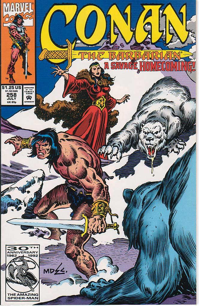 Conan the Barbarian (1970) Issue #258 #270 - English 1