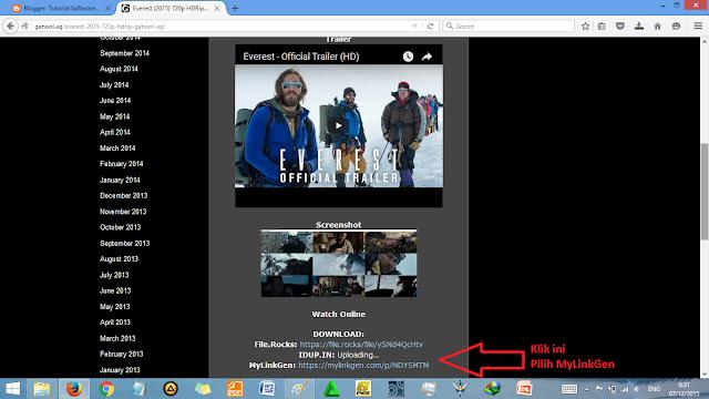 Cara Cepat Download Film di Ganool Sekejap