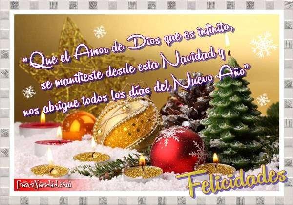 Imagenes Con Mensajes De Navidad