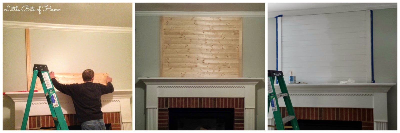 fireplace planking reveal