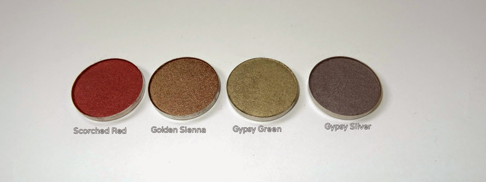 coastal scents hot pots haul scorched red,golden sienna,gypsy green,gypsy silver