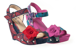 Ruby Shoo Loren Wedge Sandals