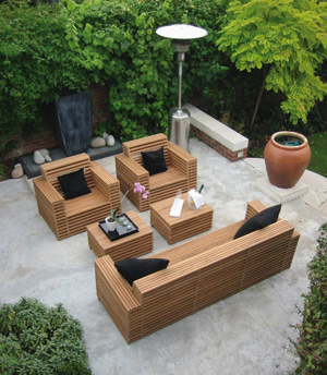 High inovation garden furniture agit garden collections - Plan table de jardin en bois ...