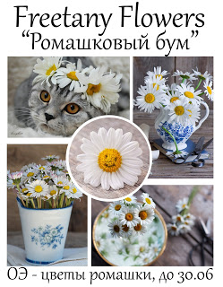 """+++Задание Июня """"Ромашковый бум"""" до 30/06"""