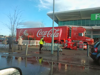 Coca-Cola Holidays Are Coming Truck in 2011