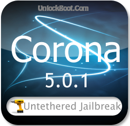 Corona 5.0.1 Jailbreak Updated to V1.0-8