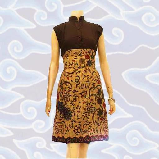 model baju batik wanita modern terbaru 2015