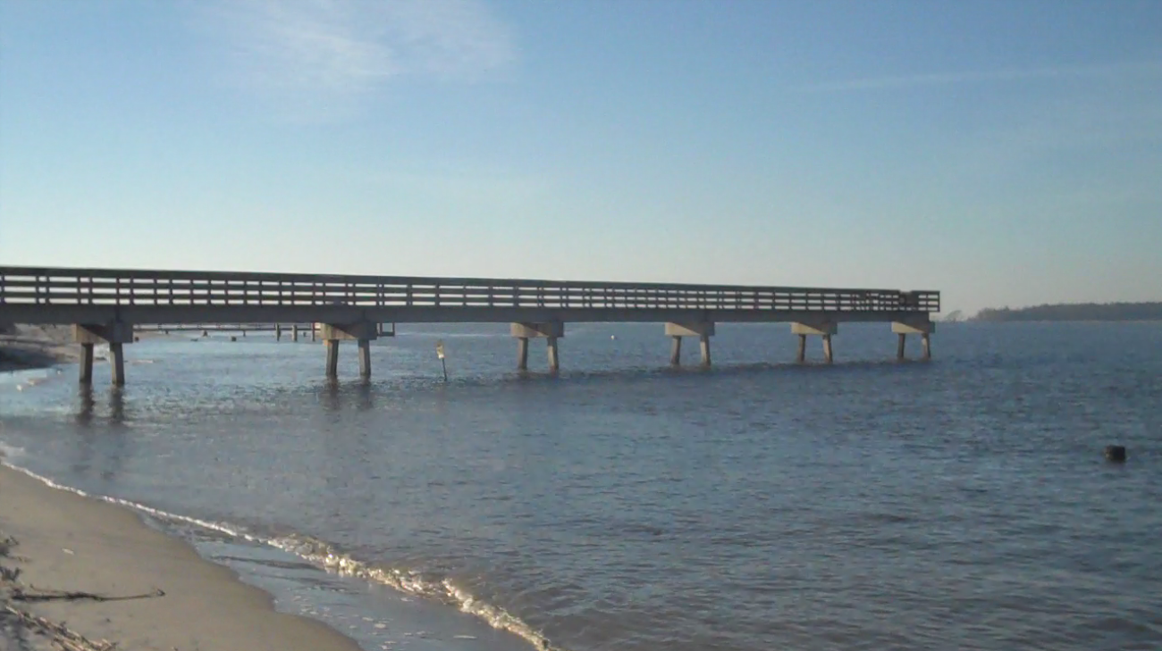 Grampian 26 worlds largest 26 footer unintentionally for Tybee island fishing pier