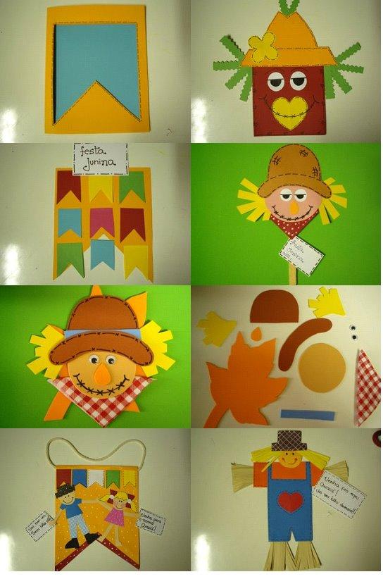 Decoração Em Eva Para Festa Junina Cantinho Do Educador Infantil