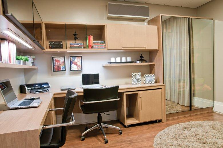 Blog Achados de Decoração UMA CASA NOVA UM MONTE DE  ~ Quarto Casal Pequeno Com Home Office