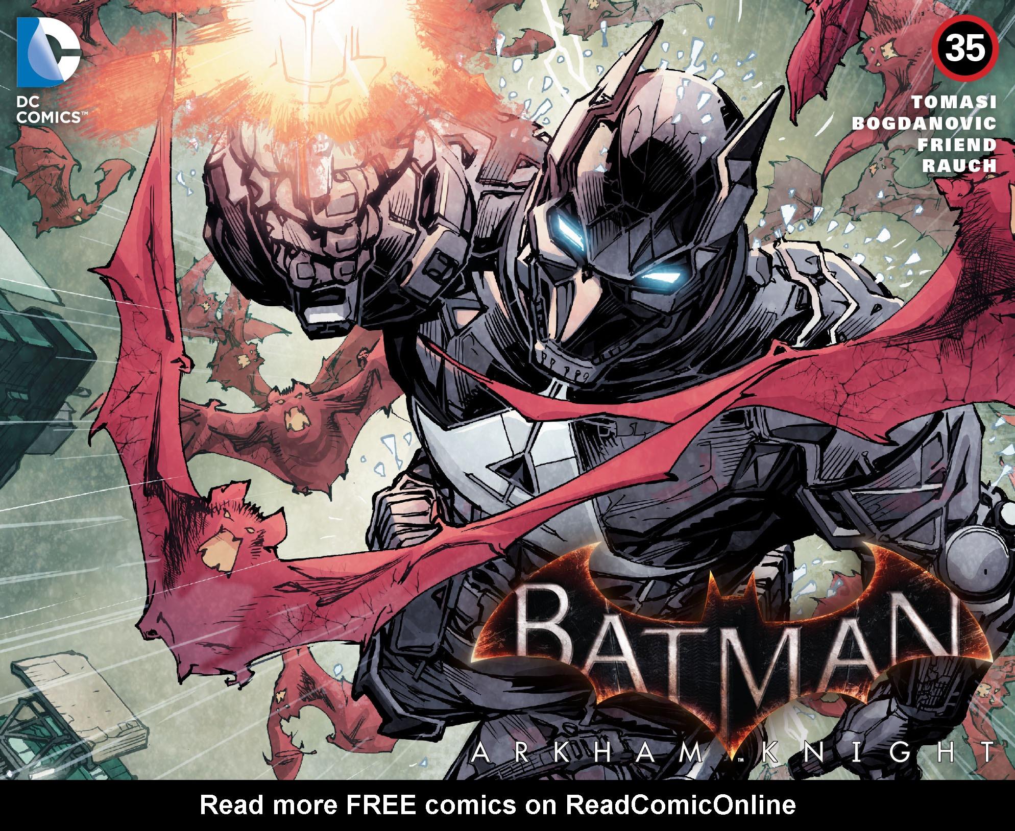 Batman: Arkham Knight [I] Issue #35 #37 - English 1