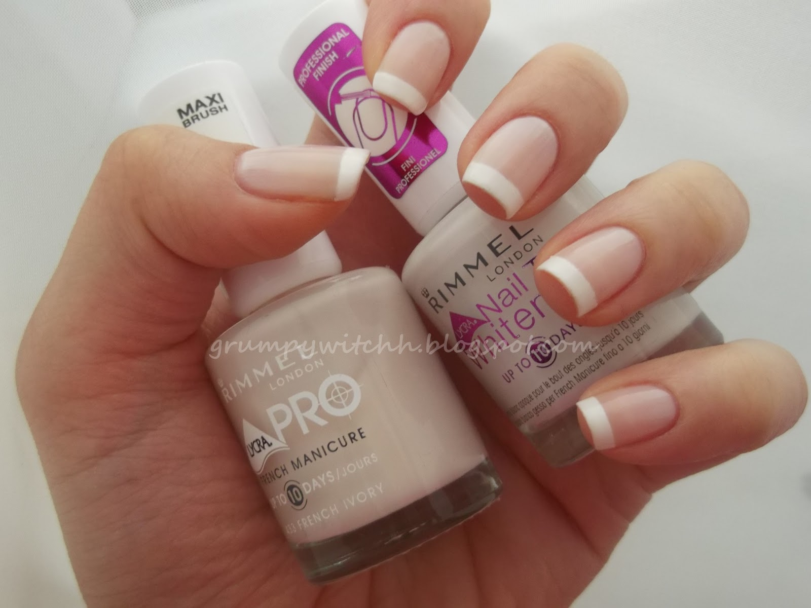 French manicure london