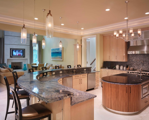 modern fine furniture kitchen island design