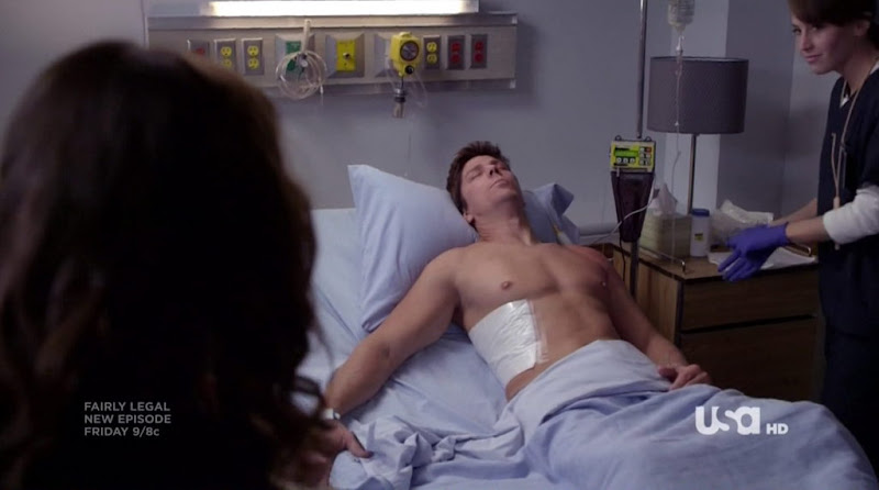 Michael Trucco Shirtless in Fairly Legal s2e01