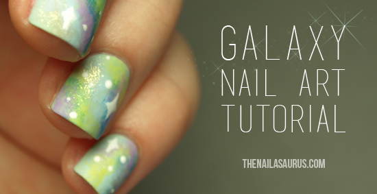 Nebula Nail Art Tutorial