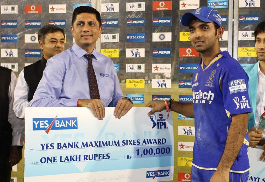 Ajinkya-Rahane-Maximum-Sixes-KXIP-vs-RR-IPL-2013