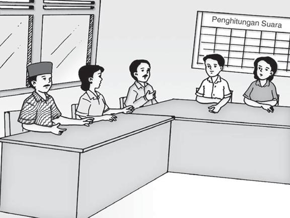Soal Ulangan Harian PKn Kelas 4 tentang Sistem Pemerintahan Desa dan Kecamatan