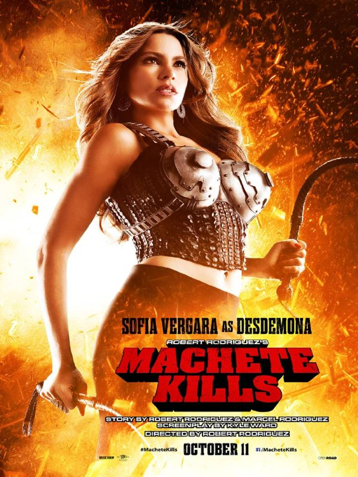MACHETE KILLS (2013) ... The Ultimate Poster Collection of ...