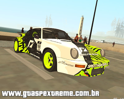 Porsche 911 Carrera RSR 3.0 1974 para grand theft auto