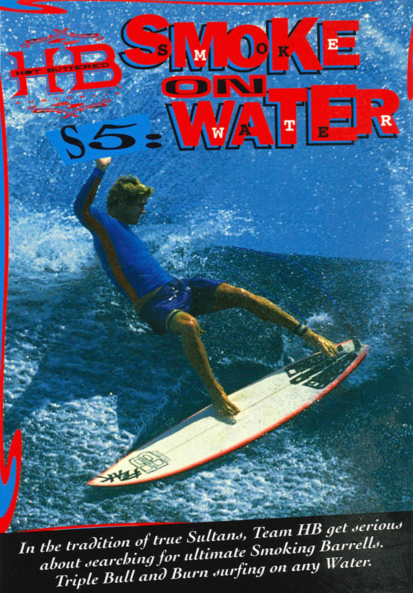 Smoke on Water surf movie