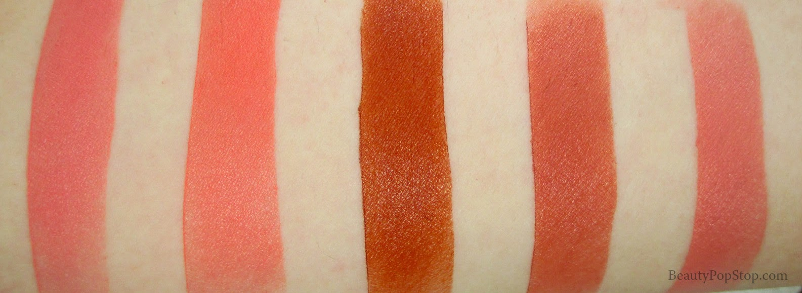 maqpro lip and rouge palette pp18 swatches