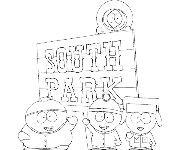 South Park Coloring Pages To Print