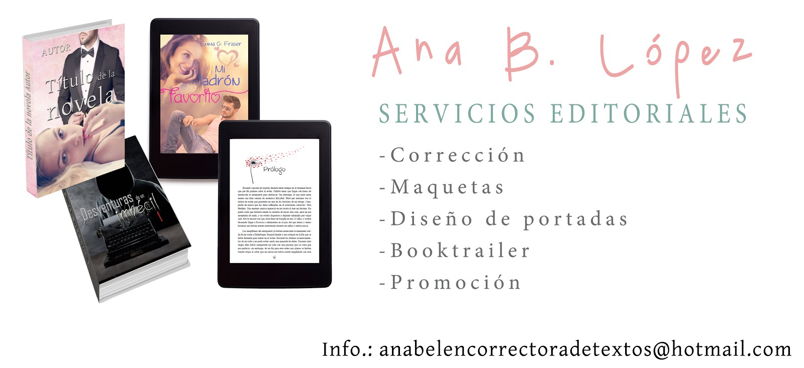 DISEÑO DE PORTADAS, MAQUETACIÓN Y CORRECCIÓN DE LIBROS