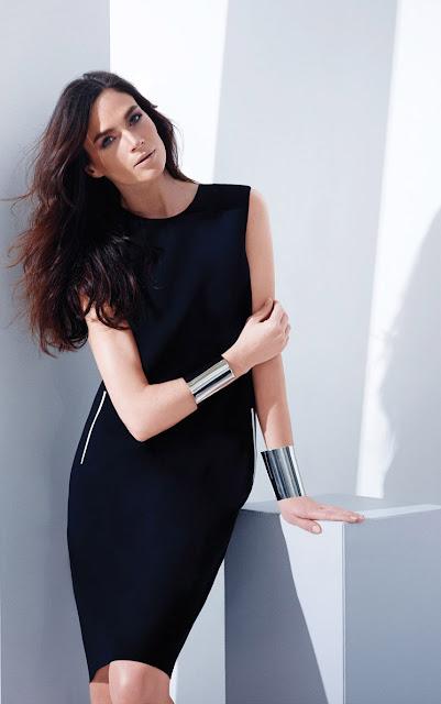 siyah dar elbise, abiye