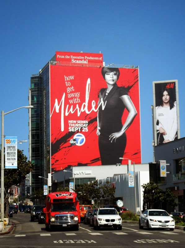 Giant How to Get Away with Murder billboard
