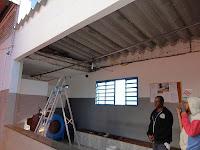 Antes da Instalação de Forro PVC