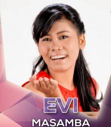 Evi Masamba Da2 Finalis 15 besar tampil 1-2 April 2015.
