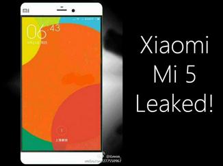 Rumor bocoran spesifikasi Xiaomi Mi5