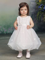Girls pageant dress white
