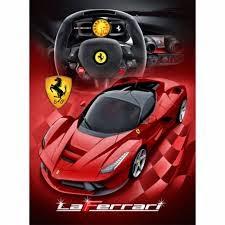 Jual Selimut Rosanna Soft Panel Blanket La Ferrari