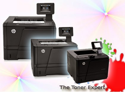 Three Configurations of HP LaserJet Pro 400 M401 Series