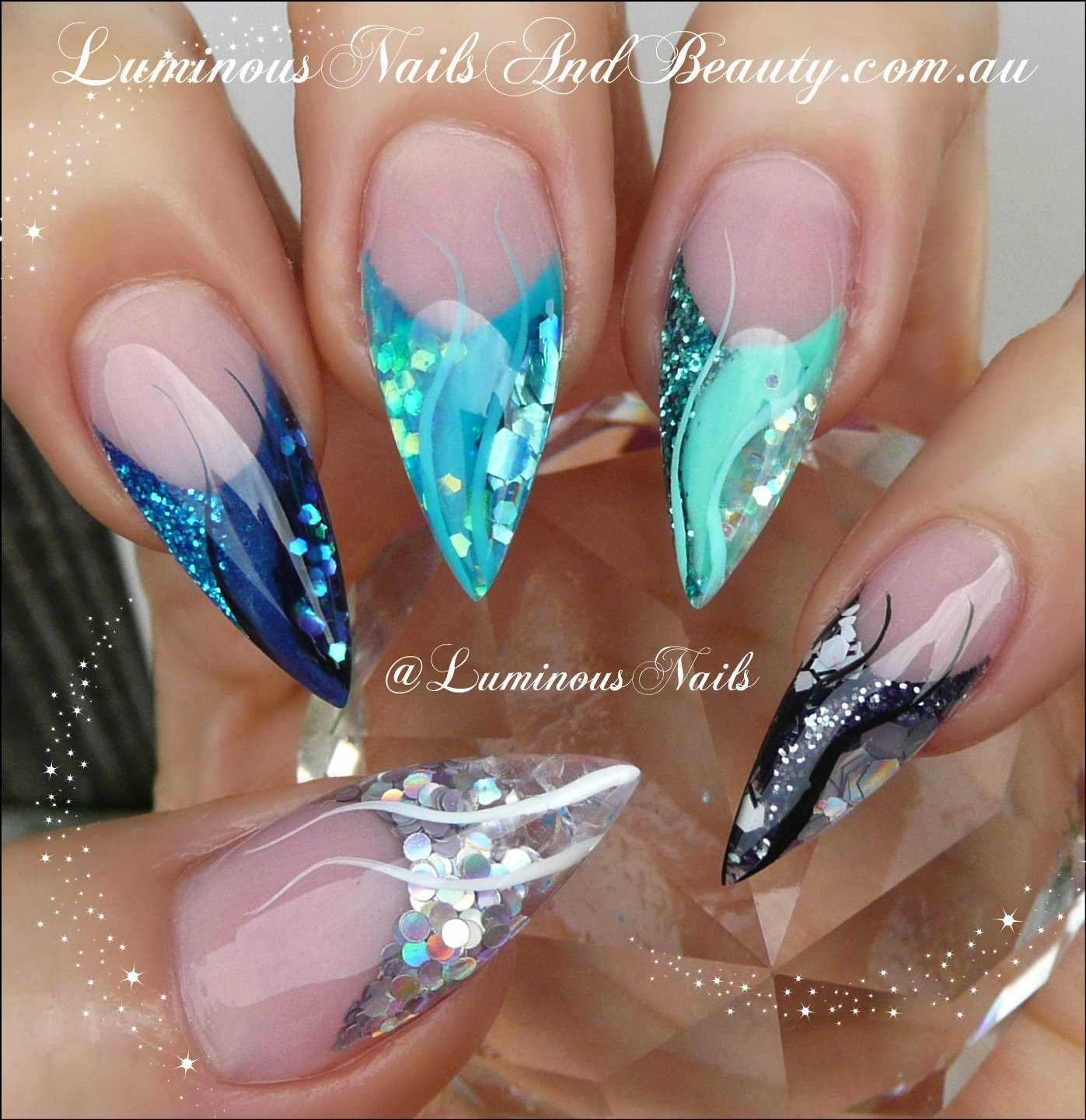Luminous Nails Luminous Nails Advanced Nail Art Designs Ebook