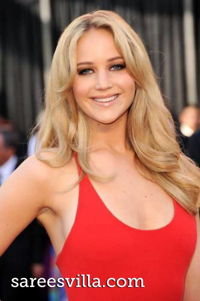 American actress Jennifer Lawrence