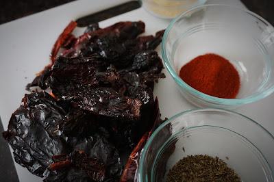 Homemade Chili Powder Prep