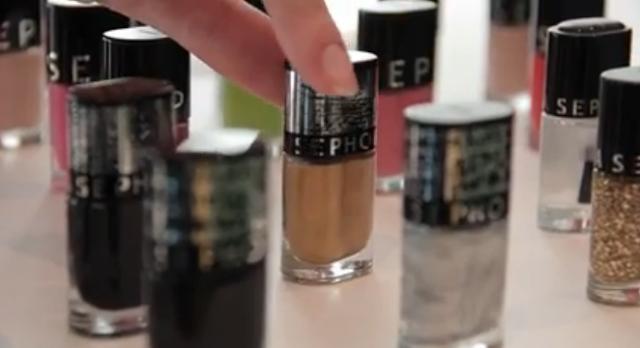 Sephora BeauTV Véronique Très Jolie 2013 Smalti Color Hit Top Coat Nail Designer