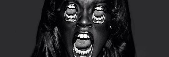Azealia capa de boca nos olhos