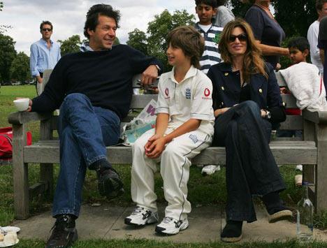 Imran Khan Family