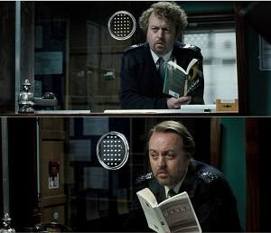 Iain Banks, Iain M. Banks, Bill Bailey, Hot Fuzz, Edgar Wright
