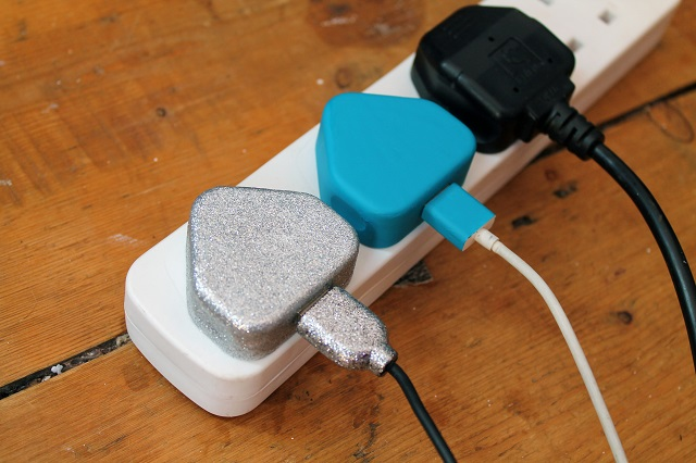 diy painted phone charger