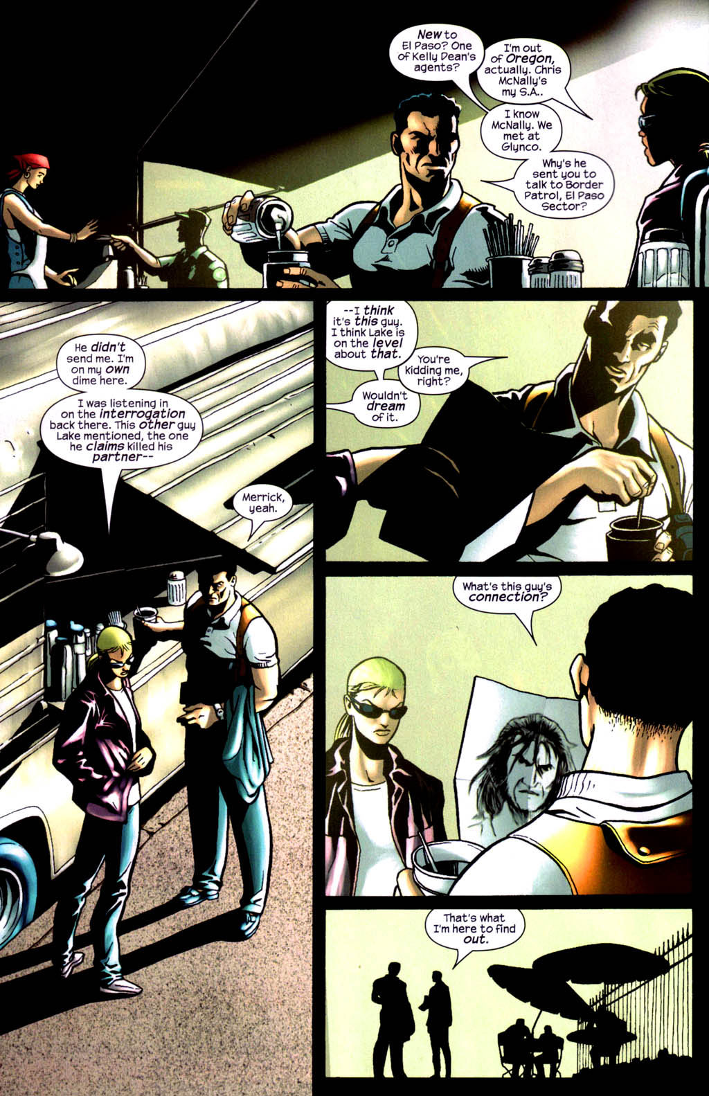 Read online Wolverine (2003) comic -  Issue #8 - 6