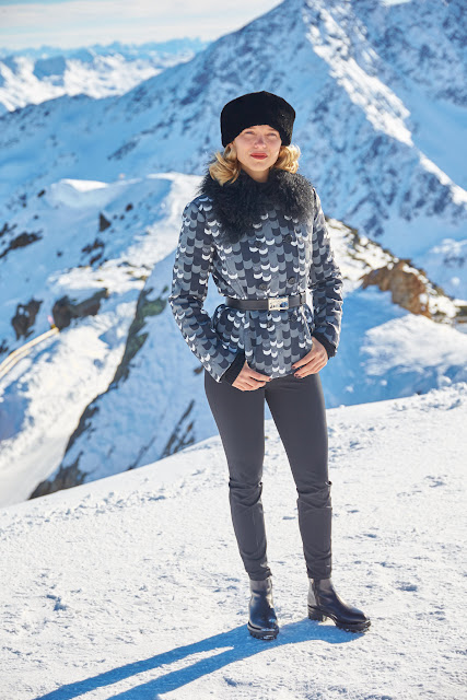 Léa Seydoux commences filming SPECTRE in Solden, Austria