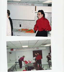 International Women's Day 1992 ECWU Hall, Sarnia, Ontario, Canada