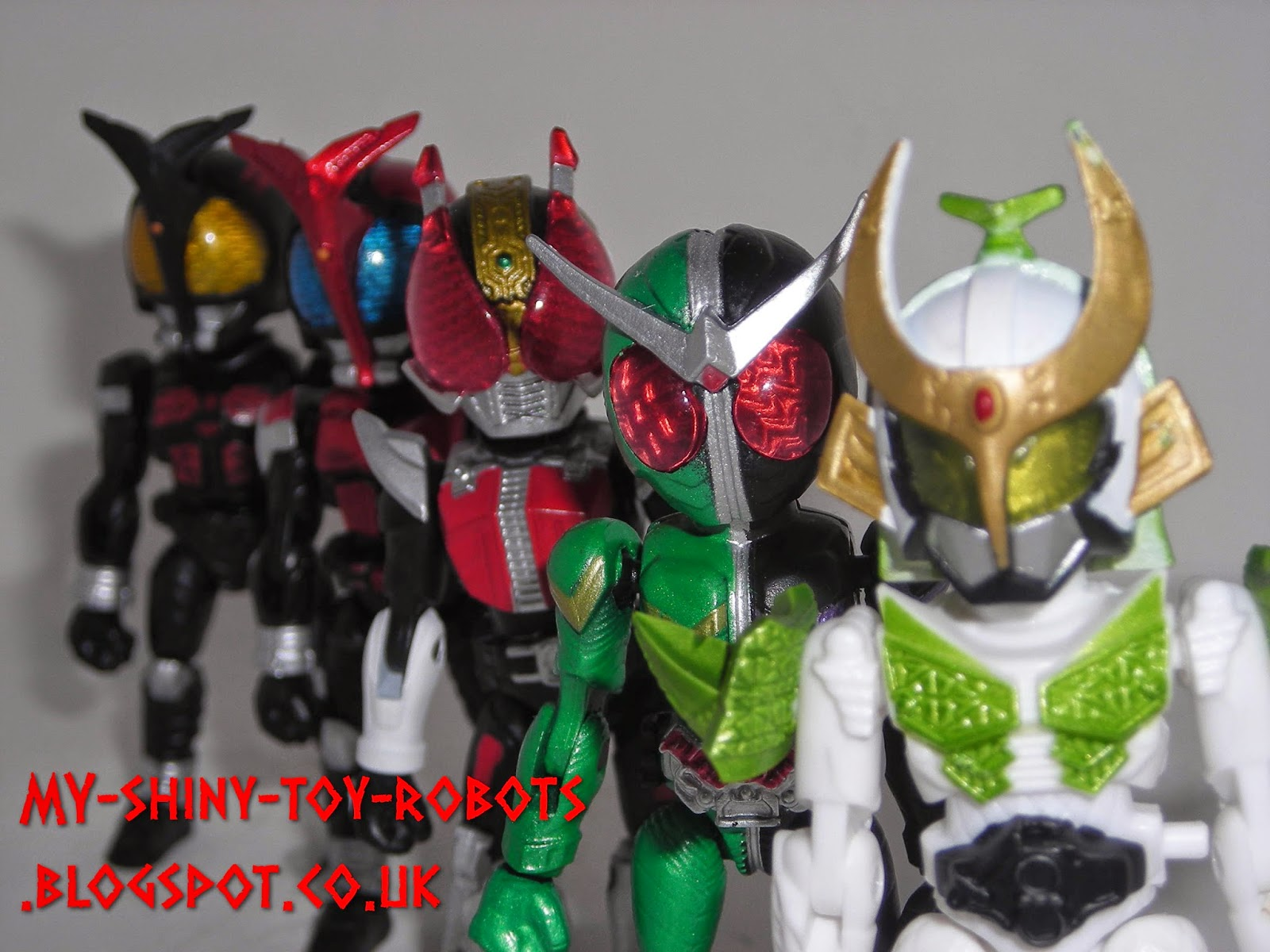 66action Kamen Riders Wave 2