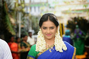 Sri Divya cute in half saree-thumbnail-4